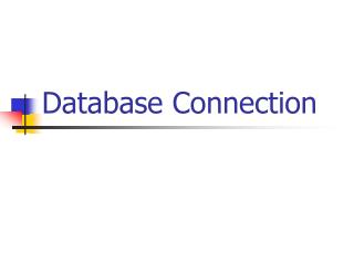 Database Connection