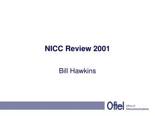NICC Review 2001