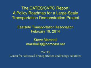 Problem 1: Oil Dependence in Transportation