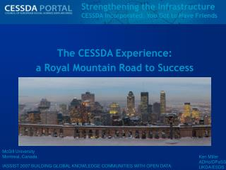Strengthening the Infrastructure CESSDA Incorporated: You Got to Have Friends