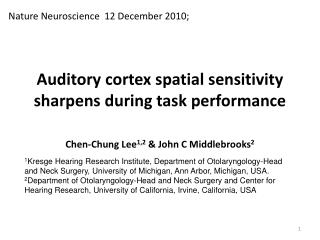 Auditory cortex spatial sensitivity sharpens during task performance