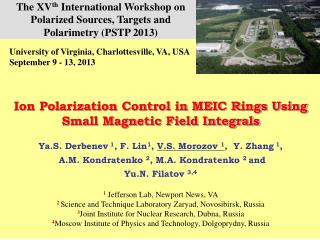 Ion Polarization Control in MEIC Rings Using Small Magnetic Field Integrals