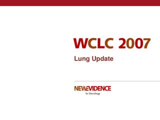 Lung Update