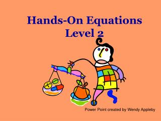 Hands-On Equations Level 2
