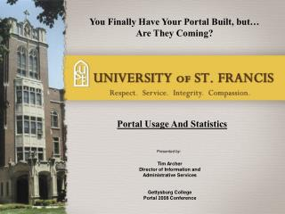 Portal Usage And Statistics