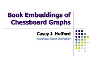 Book Embeddings of Chessboard Graphs
