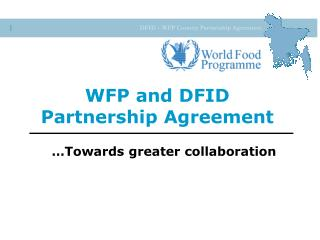 WFP and DFID Partnership Agreement
