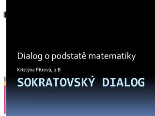 Sokratovský dialog