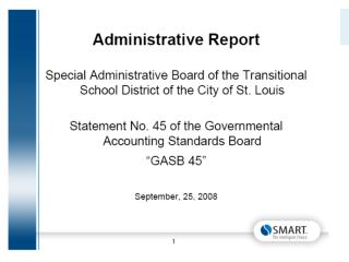 FISCAL YEAR 2008-2009 Financial Report  August 2008 Year To Date