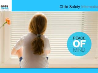 Blinds Cords and Chains - Child Safety Information