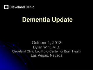 Dementia Update