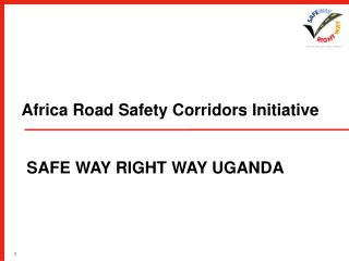 Africa Road Safety Corridors Initiative