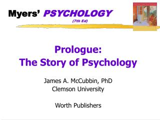 Myers�  PSYCHOLOGY 				(7th Ed)
