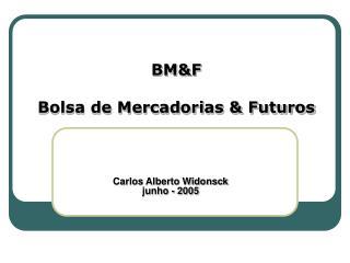 BM&F Bolsa de Mercadorias & Futuros