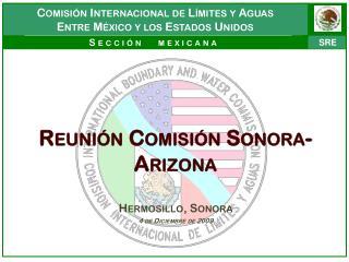 Reunión Comisión Sonora-Arizona
