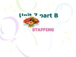 Unit 7 part B