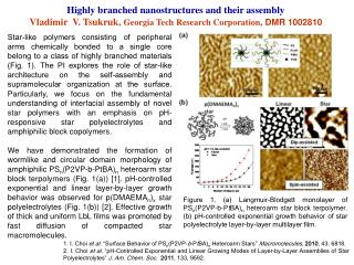 Highly branched nanostructures and their assembly