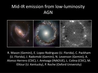 Mid-IR emission from low-luminosity AGN