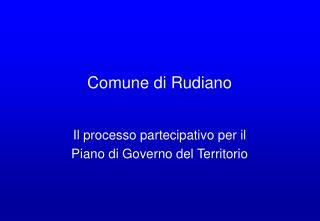Comune di Rudiano