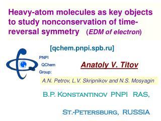 Anatoly V. Titov