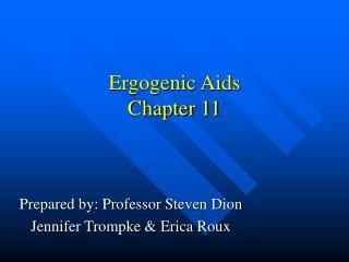 Ergogenic Aids Chapter 11