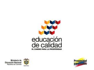 Encuentros Regionales – 2012 Ministerio de Educación Nacional