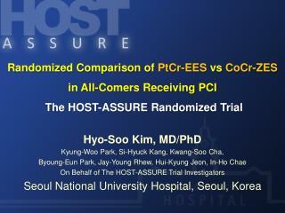 Hyo-Soo Kim, MD/PhD Kyung-Woo Park, Si-Hyuck Kang, Kwang-Soo Cha,