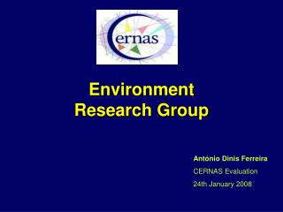 Environment  Research Group