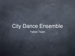 City Dance Ensemble