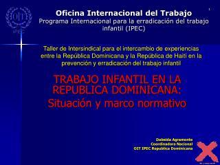 Oficina Internacional del Trabajo