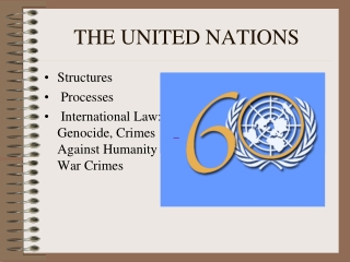 The United Nations of the Future. What role for international law