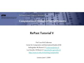RePast Tutorial V