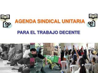 AGENDA SINDICAL UNITARIA