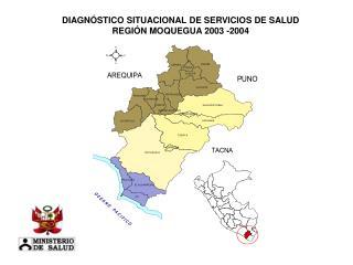 DIAGNÓSTICO SITUACIONAL DE SERVICIOS DE SALUD REGIÓN MOQUEGUA 2003 -2004