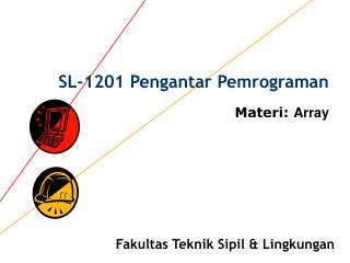 SL-1201 Pengantar Pemrograman