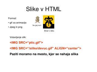 Slike v HTML