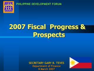 PHILIPPINE DEVELOPMENT FORUM
