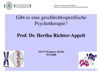 Zentrum f ür Psychosoziale Medizin Institut für Sexualforschung und Forensiche Psychiatrie