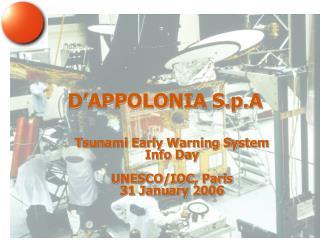 D'APPOLONIA S.p.A