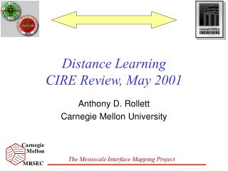 Distance Learning CIRE Review, May 2001