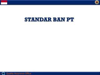 STANDAR BAN PT