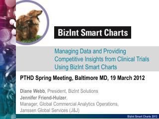 PTHD Spring Meeting, Baltimore MD, 19 March 2012 Diane Webb , President,  BizInt  Solutions