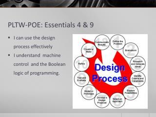 PLTW-POE: Essentials 4 & 9