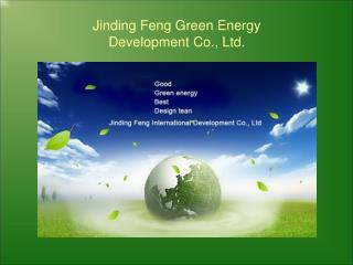 Jinding Feng Green Energy  Development Co., Ltd.