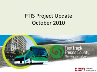 PTIS Project Update October 2010