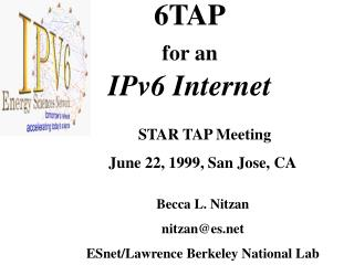 6TAP for an IPv6 Internet