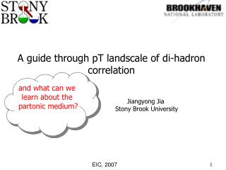 A guide through pT landscale of di-hadron correlation