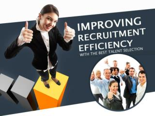 It's Your Skills - Improving Recruitment Efficiency
