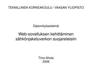 Web-sovellus