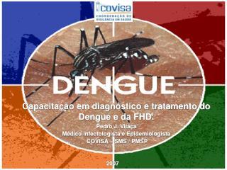 Capacitação em diagnóstico e tratamento do Dengue e da FHD. Pedro J. Vilaça